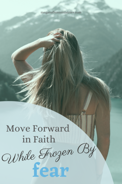 move forward in faith