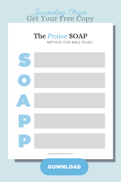 SOAP method of Bible Study