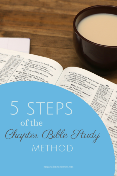 5 Steps of Chapter Bible Study
