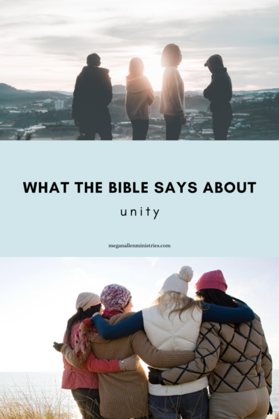 What Does the Bible Say About Unity