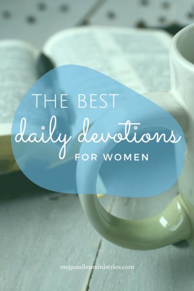 Best Daily Devotions for Women