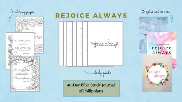 Printable Bible Study on Philippians