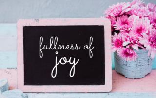 Fullness of Joy in His Presence