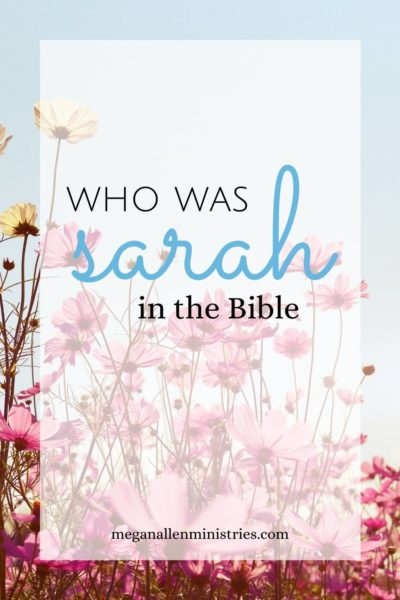 Who was Sarah in the Bible