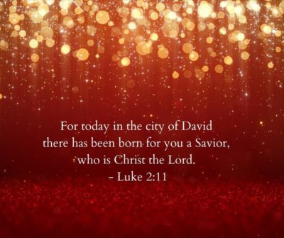 Bible verses for Christmas Luke 2:11