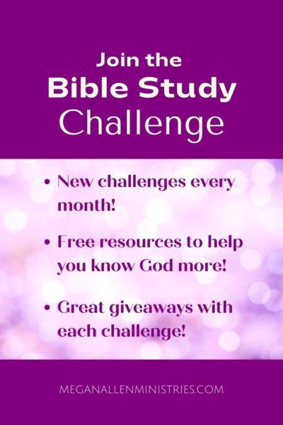 Bible Study Challenge